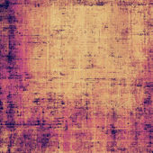 Old grunge background with delicate abstract canvas — Stock Photo