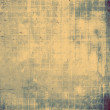 Stock Photo: Old abstract grunge background
