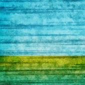 Campo de grunge e céu azul, fundo de natureza — Foto Stock