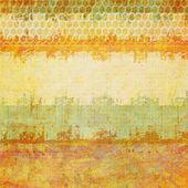 Grunge 纹理与旧的抽象背景 — 图库照片