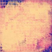 グランジ テクスチャとレトロな背景 — ストック写真