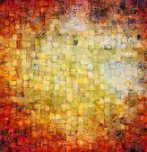 Sztuka mozaiki tło — Zdjęcie stockowe