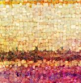 Vintage mosaic background — Stock Photo