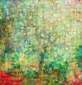 Vintage mosaic background — Stock Photo
