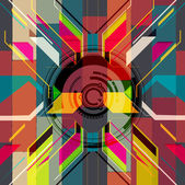 Abstract geometric design — Stock Photo