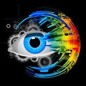 Abstract eye — Stock Photo