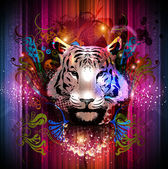 Tiger decorative — Stock Photo