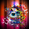 Stock Photo: Abstract eye