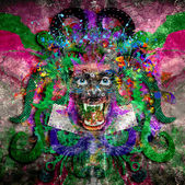 Freak abstraction — Stock Photo