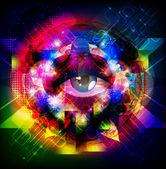 Magic eye — Stock Photo