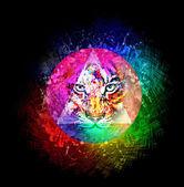 иллюстрация тигра — Стоковое фото