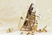 Clock mechanism. — Stock Photo