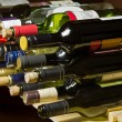 Stock Photo: Wine bottles and corks.