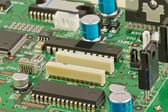 Components on the circuit board. — Stock Photo