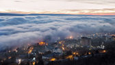 City in the clouds. — Stock Photo