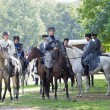 Постер, плакат: Riders on horseback Cossacks