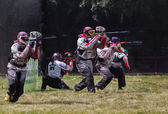 Competition paintball.  — Stock Photo