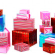 A selection of colorful presents — Stock Photo #22502565