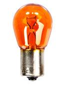Yellow car indicator bulb — Stock Photo