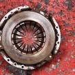 An old worn out vehicle clutch — 图库照片 #46482459