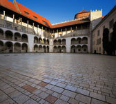 Wawel Royal Castle in Krakow, Poland. — Stock Photo