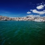 Luxury yachts and motor boats in Puerto Banus marina in Marbella, Spain — Stock Photo #50360085