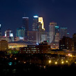 Minneapolis Minnesota East — Stock Photo
