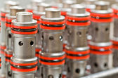 Cartridge Valves — Stock Photo