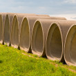 Cement Tubes - Stock Photo