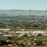 Downtown Phoenix Arizona — Stock Photo