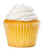 Wanilia ciastko na białym tle — Zdjęcie stockowe