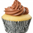 Marble Cupcake — Stock Photo