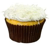Coconut Cupcake — Stock Photo