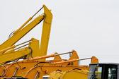 Excavators — Stock Photo