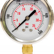 Pressure Gauge with Needle — Foto Stock