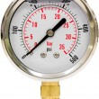 Pressure Gauge with Needle — Stok fotoğraf