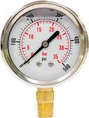 Pressure Gauge with Needle — Stock Photo