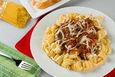 Tomato Meat Pasta — Stockfoto