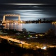 Duluth Minnesota Night Time — Stock Photo