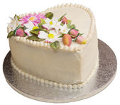 White Cake — Stock Photo