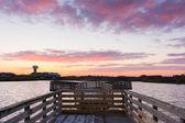 Wooden Dock — Stock Photo