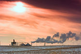 Industrial Smog — Stock Photo
