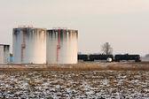 Oil Tanks — Stock Photo