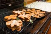 Bolinhos de pão de gengibre — Foto Stock