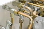 Hydraulic Tubes — Stock Photo