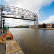 Aerial Lift Bridge — Stock Photo