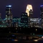 Downtown Minneapolis Minnesota — Stock Photo
