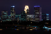 Downtown Minneapolis Minnesota — Stock Photo