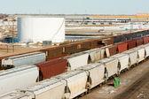 Freight Train — Stock Photo