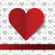 Royalty-Free Stock Vector Image: Valentine\'s day postcard